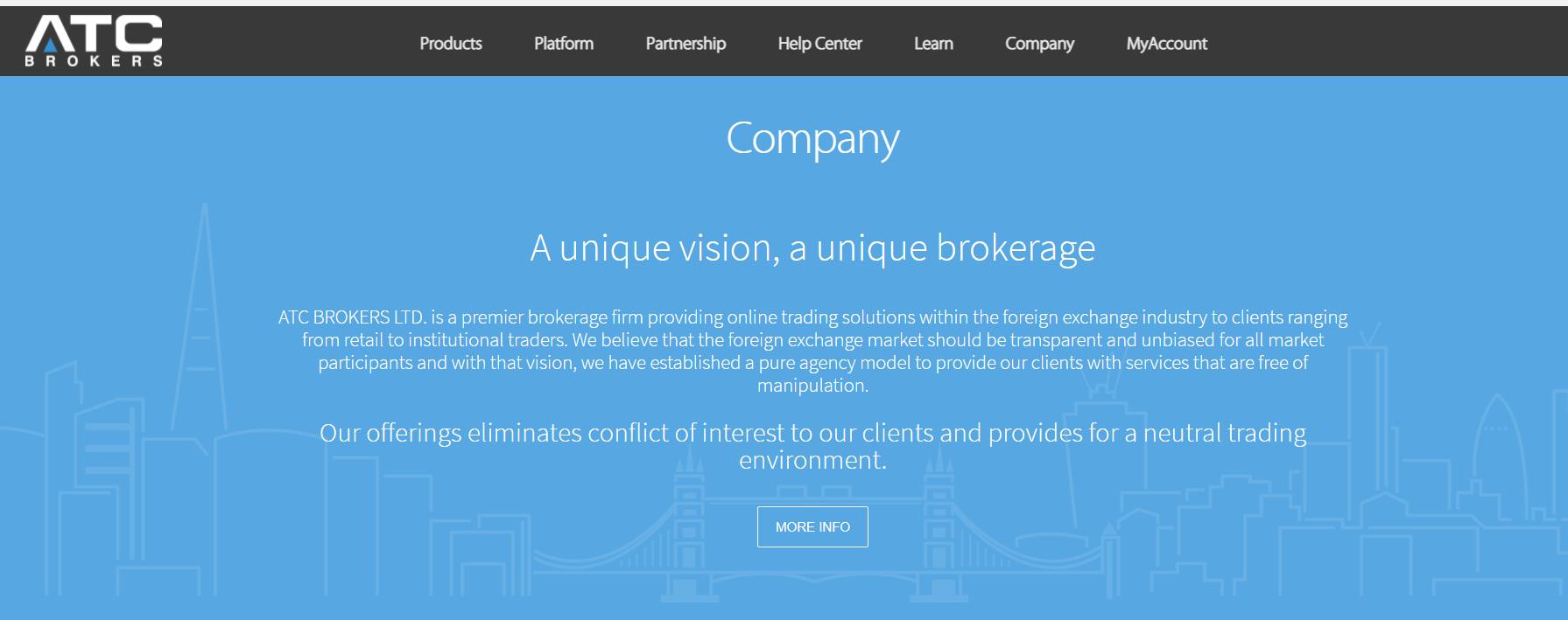 торговые условия atc brokers
