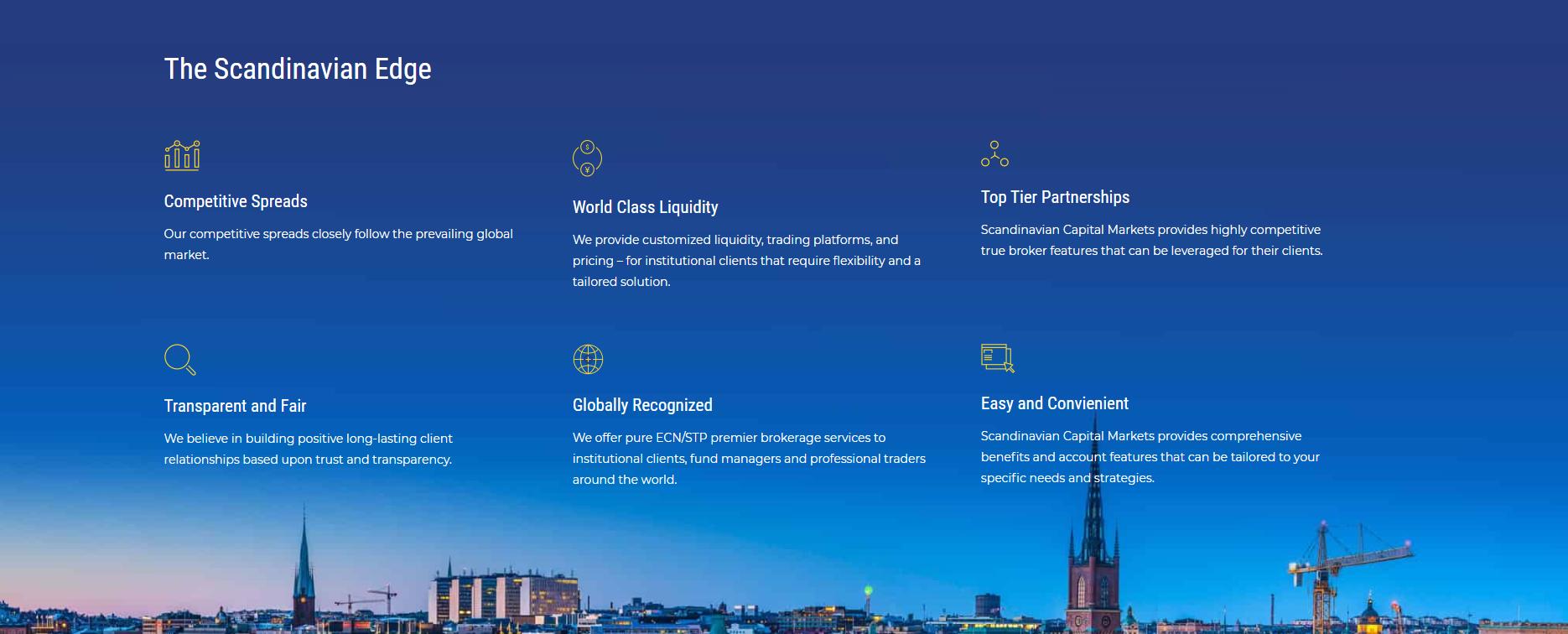 scandinavian capital markets торговые условия