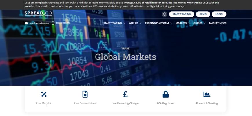 spread co официальный сайт компании